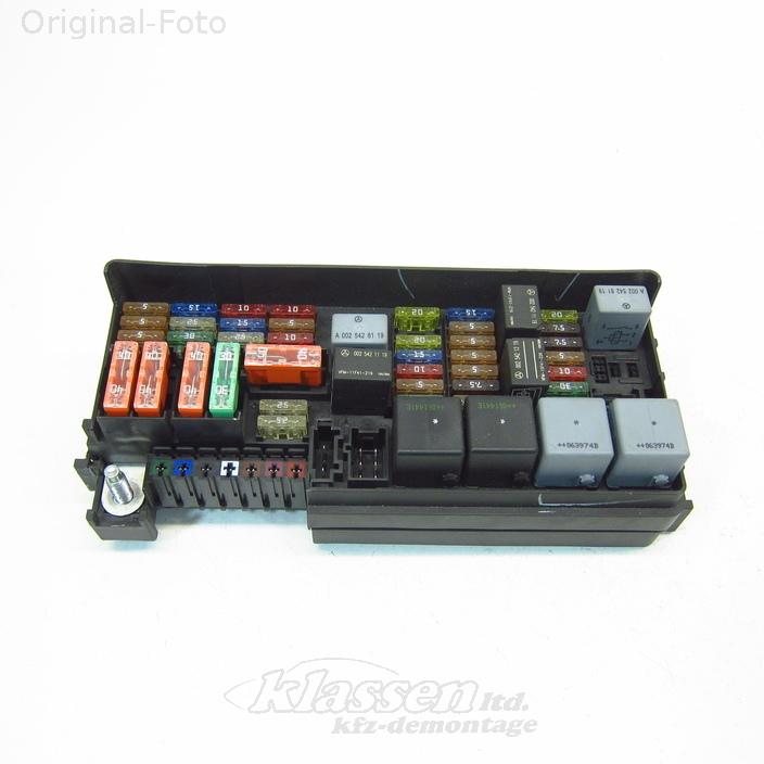 sicherungskasten mercedes benz m klasse w164 ml a1645402372 ebay