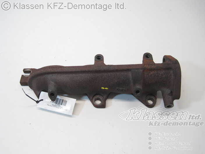 exhaust manifold renault espace 4 iv 3 0 dci kr mmer exhaust manifold ebay. Black Bedroom Furniture Sets. Home Design Ideas