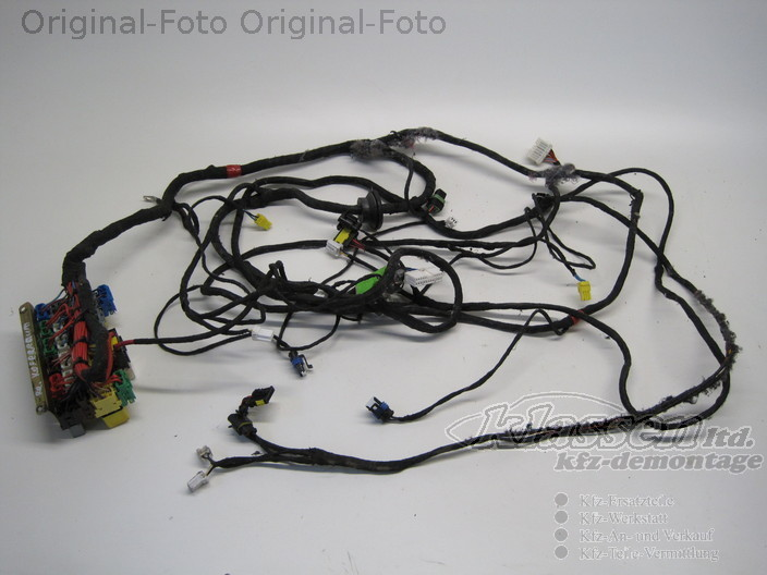 wiring harness right trunk maserati 3200 gt 10 98