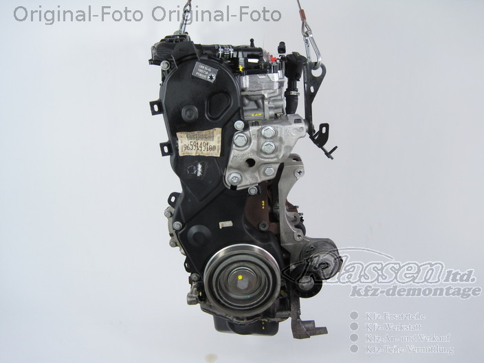 motor 4ht citroen c5 2 2 hdi 170 ps engine moteur ebay. Black Bedroom Furniture Sets. Home Design Ideas