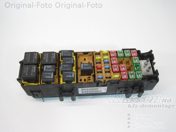 sicherungskasten relaiskasten jeep grand cherokee wj wg 56050255ab fuse box ebay. Black Bedroom Furniture Sets. Home Design Ideas