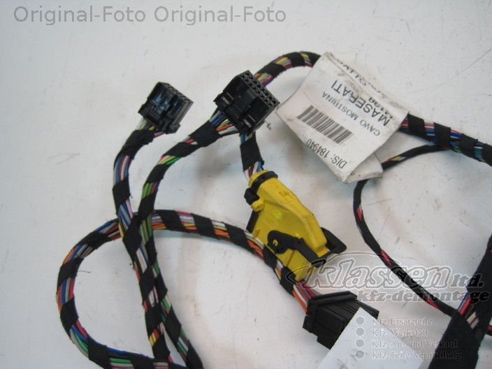 wiring harness center arm console maserati spyder 4 2 184940