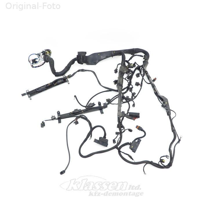 W124 Engine Wiring Harness Replacement