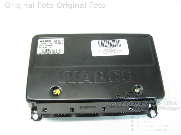 AIR SUSPENSION ELECTRONIC CONTROL MODULE WABCO 2W93-3B494-BF Jaguar XJ6 XJ8 X350