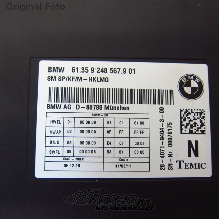 seat-control-Unit-BMW-F01-06-08-61359248567-Rear thumbnail 2